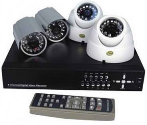 Deluxe 4 Channel Wired Surveillance System