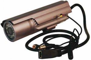 Wired Indoor/Outdoor Infrared IP Camera