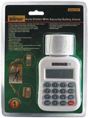 Auto Dialer with Security Alarm
