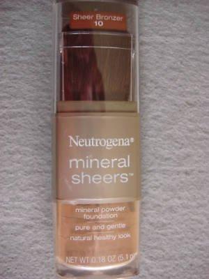 Neutrogena Mineral Sheers Powder Foundation (Sheer Bronzer) - #10