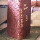 Miniature Leatherbound Shakespeare books