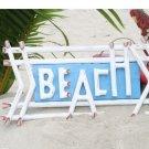 Blue Beach Sign    Sku: DPT521855
