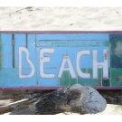 Coastal Colored Beach Sign    Sku: BDS1207735