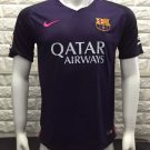 16/17 Barcelona Away Soccer Jersey Shirt Shorts Kit Sport Uniform