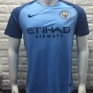 16/17 Man City Home Soccer Jersey Shirt Football Sport Tee