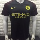 16/17 Man City Away Soccer Jersey Shirt Football Sport Tee