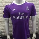 16/17 Real Madrid Away Soccer Jersey Shirt Football Sport Tee
