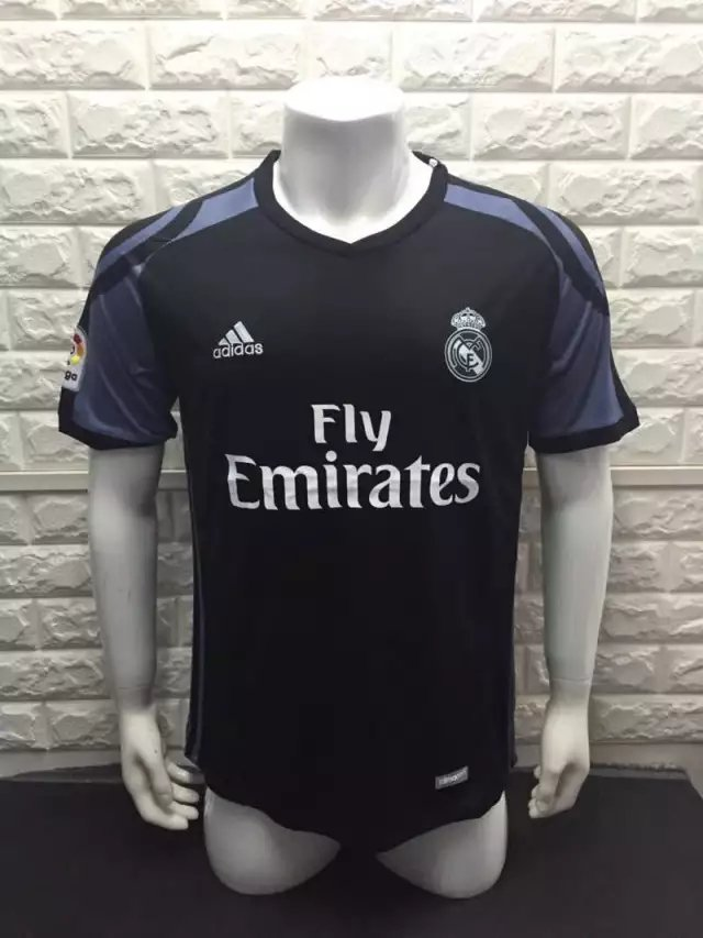 16/17 Real Madrid 3Rd Third Soccer Jersey Shirt Football Sport Tee