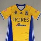 16/17 Tigres UANL Home Soccer Jersey Shirt Football Sport Tee