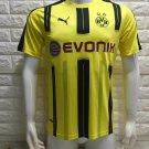 16/17 Dortmund Home Soccer Jersey Shirt Football Sport Tee