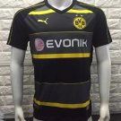 16/17 Dortmund Away Soccer Jersey Shirt Football Sport Tee