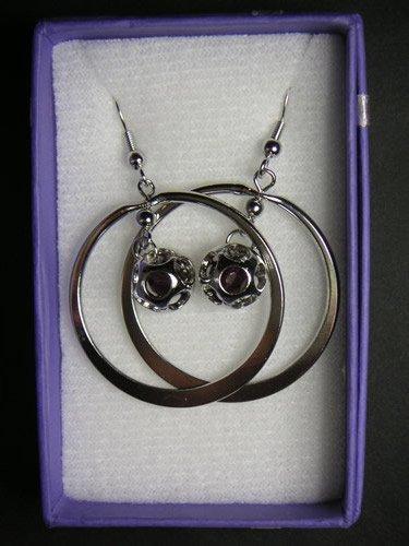 Dark Purple Ball Ring