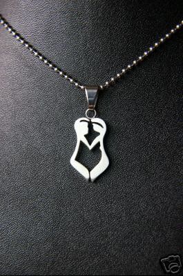 Stainless Steel Couple Necklace *UNISEX*