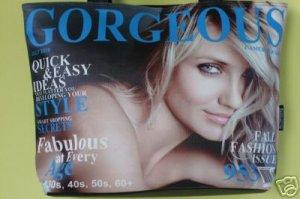 Unique magazine cover tote/shoulder bag