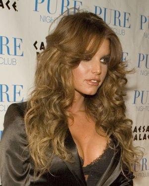 Jessica Simpson 8x10 Photo - Sexy Black Busty Top #14