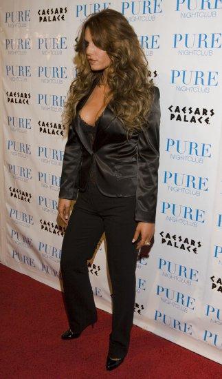 Jessica Simpson 8x10 Photo - Sexy Black Busty Top #22