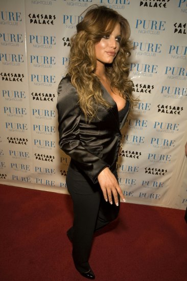 Jessica Simpson 8x10 Photo - Sexy Black Busty Top #28