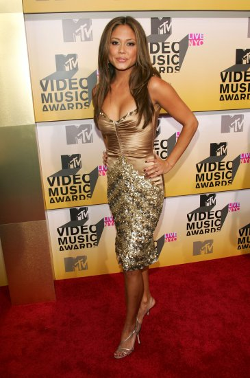 Vanessa Minnillo 8x10 Photo - MTV VMA Great Curves Candid! #7