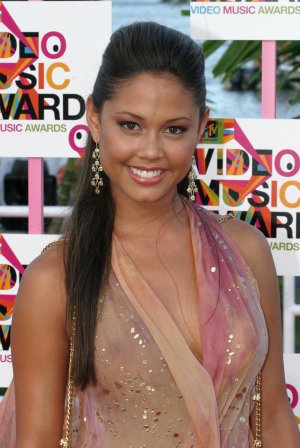 Vanessa Minnillo 8x10 Photo - MTV VMA '04 C-THRU ~MUST HAVE~ TOP SLIP Candid! #42