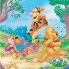 "Winnie The Pooh "" A Sweet Summer Day"" Fleece Blanket"