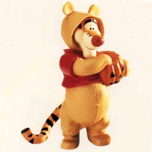 Disney Tigger Dressed Like Pooh Boo Hoo To You Figurine