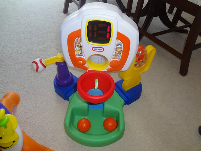 3-in-1 Sports Toy