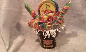 Carnival/Circus Lollipop Bouquet
