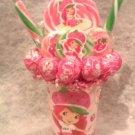 Strawberry Shortcake Lollipop Bouquet
