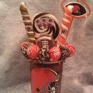 Cleveland Browns Lollipop Cup Bouquet