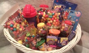 Gumball Gift Basket