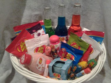 Jelly Belly Gift Basket