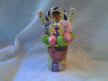 Doc Mcstuffins Lollipop Bouquet