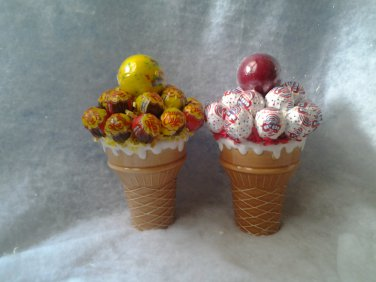 Icecream  Cones Lollipop Bouquets