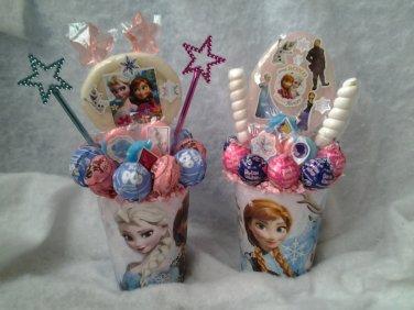 Frozen Lollipop Bouquet