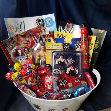WWE Gift Basket
