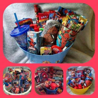 Spiderman Gift Basket