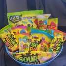 Sour Patch Gift Basket