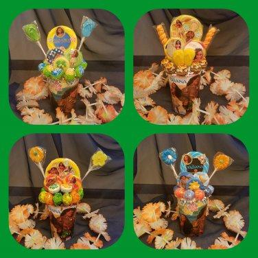 Moana Lollipop Bouquet