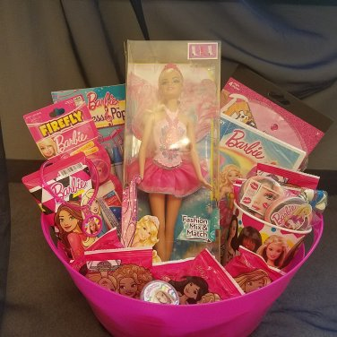 Barbie Gift Basket