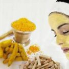 Homemade Detoxifying Turmeric & Bentonite Clay Spa Facial Mask