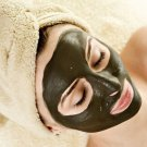 Homemade Detoxifying Bentonite & Activated Charcoal Spa Facial Mask.Blackhead