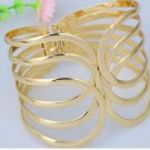 New Gold Plated Clasp Cuff Bracelet  Bangle .