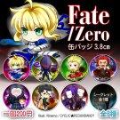 Fate/Zero badge set (7+1 secret)