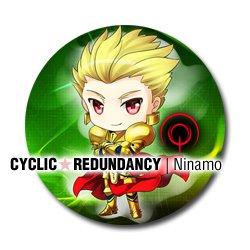 Fate/Zero - Archer (Gilgamesh) badge
