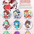 Touhou Fuujinroku ~ Mountain of Faith badge set (9)
