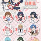 Kill la Kill badge set (9)