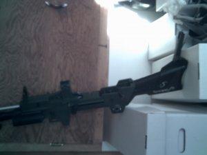 Vintage Topper 6025 Tommy Seven Tommy Gun