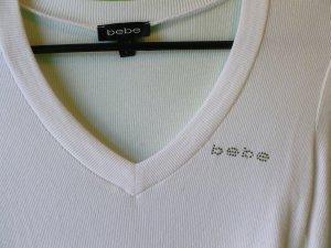 Bebe logo shirt size large