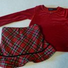CHILDRENS PLACE GIRLS CHRISTMAS OUTFIT 3T