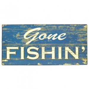 NO WHINING TIN SIGN 15X4 distressed look